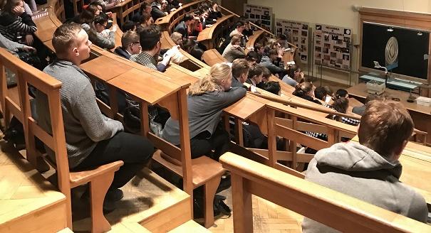 Подведение итогов VI Политехнической студенческой олимпиады по физике